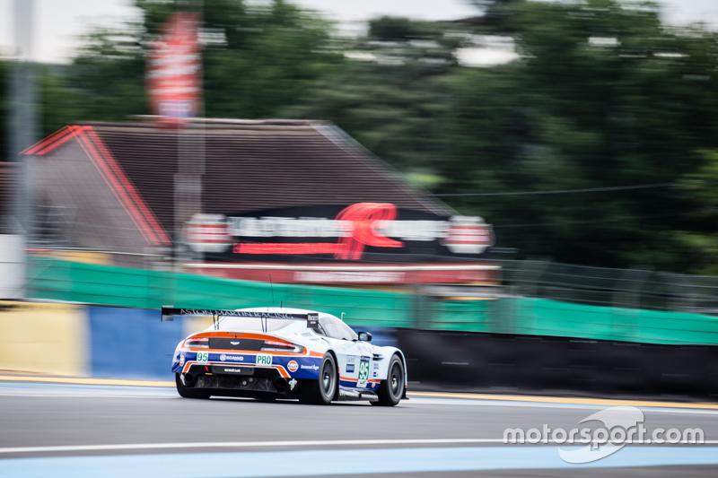 #95 Aston Martin Racing, Aston Martin Vantage GTE: Marco Sörensen, Christoffer Nygaard, Nicki Thiim