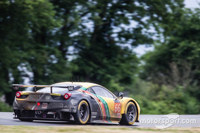 #66 JMW Motorsport Ferrari 458 GTE: Абдулазіз аль-Фейсал, Jakub Giermaziak, Michael Avenatti