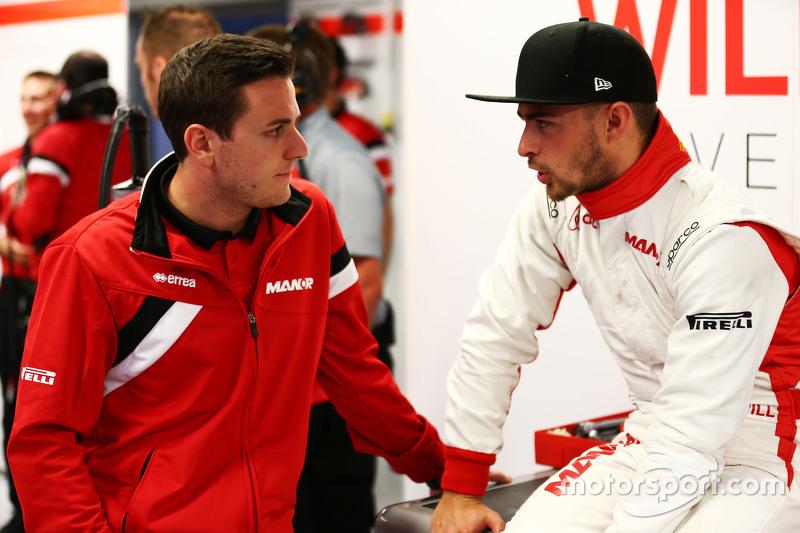 Fabio Leimer, Manor Marussia F1 Team Reserve Driver with Will Stevens, Manor Marussia F1 Team