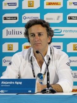 Алехандро Агаг, руководитель Формулы E