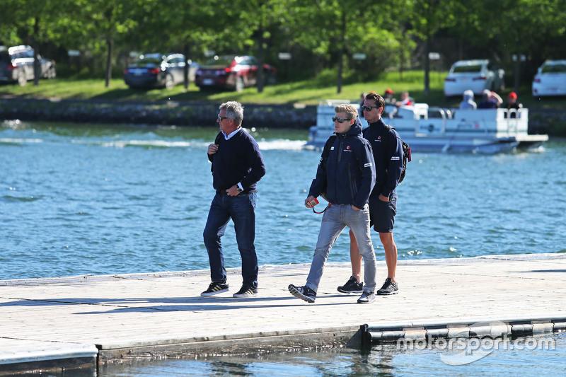Маркус Ерікссон, Sauber F1 Team з Еже Еіг, Менеджер гонщика