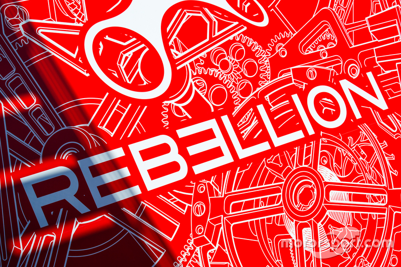 Rebellion Racing logo / signage