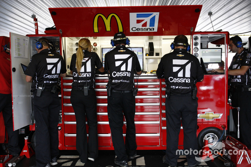 Chip Ganassi Racing Chevrolet механіки