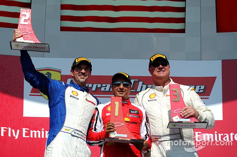 Podium: 1. #8 Ferrari of Fort Lauderdale, 2. Marc Muzzo, 3. Steve Johnson