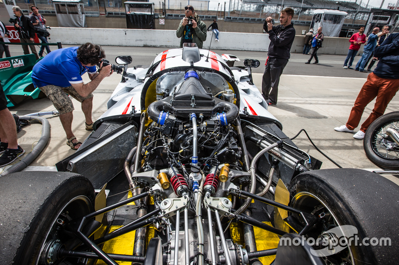 #75 Team LNT, Ginetta-Juno LM P3, Motor
