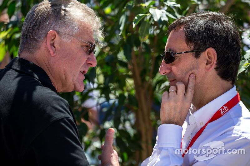 Jacques Nicolet with Pierre Fillon, Président ACO