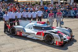 #9 Audi Sport Team Joest, Audi R18 e-tron quattro: René Rast, Filipe Albuquerque