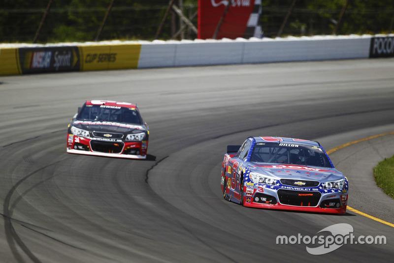 Austin Dillon dan Ryan Newman, Richard Childress Racing Chevrolets