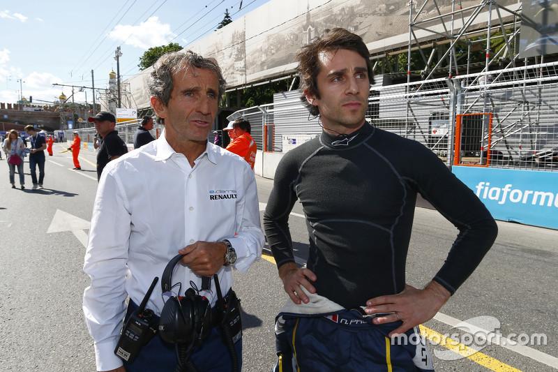 Alain Prost e Nicolas Prost