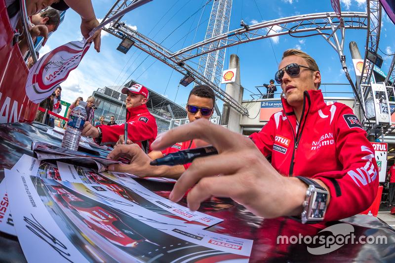 Nissan Motorsports: Olivier Pla, Jann Mardenborough, Max Chilton