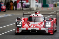 #17 Porsche Team, Porsche 919 Hybrid: Timo Bernhard, Mark Webber, Brendon Hartley