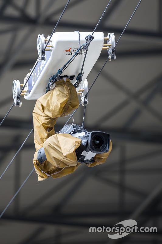 Піт-лейн overhead camera