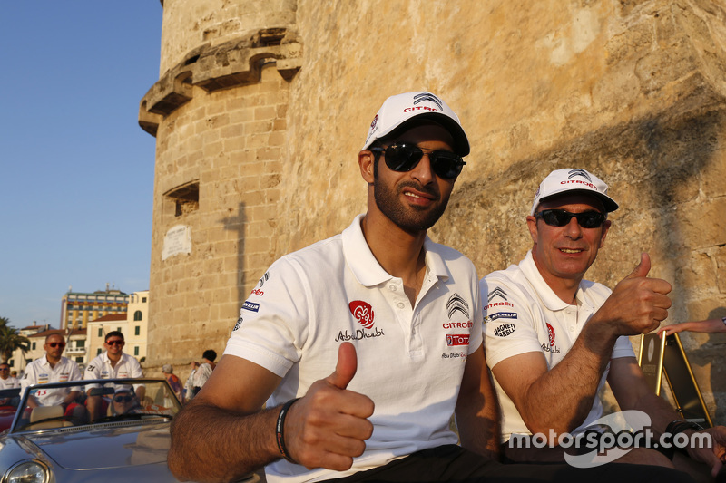 Khalid Al-Qassimi und Chris Patterson, Citroën DS3