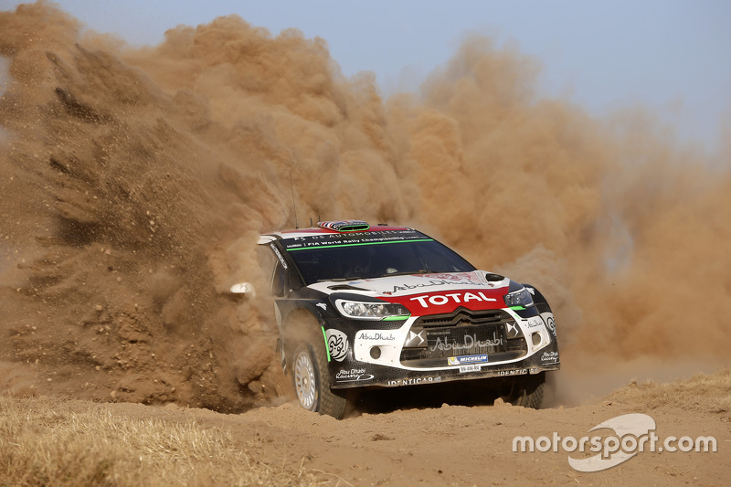 Kris Meeke, dan Paul Nagle, Citroën DS3 WRC, Citroën World Rally Team