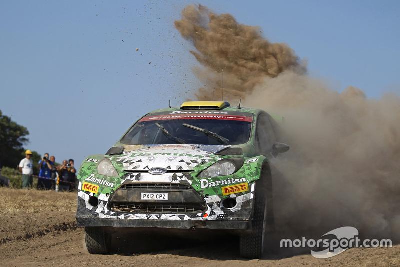 Yurii Protasov und Pavlo Cheperin, Ford Fiesta R5