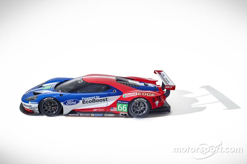 Ford GT baru yang akan balapan di Le Mans