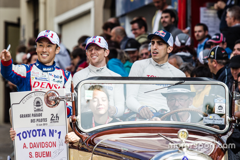#1 Toyota Racing Toyota TS040 Hybrid: Kazuki Nakajima, Anthony Davidson en Sébastien Buemi