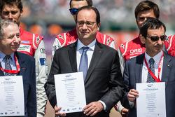 Программа FIA за безопасность дорожного движения: президент FIA - Жан Тодт, президент Франции - Фран