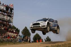 Elfyn Evans und Daniel Barrit, M-Sport, Ford Fiesta WRC
