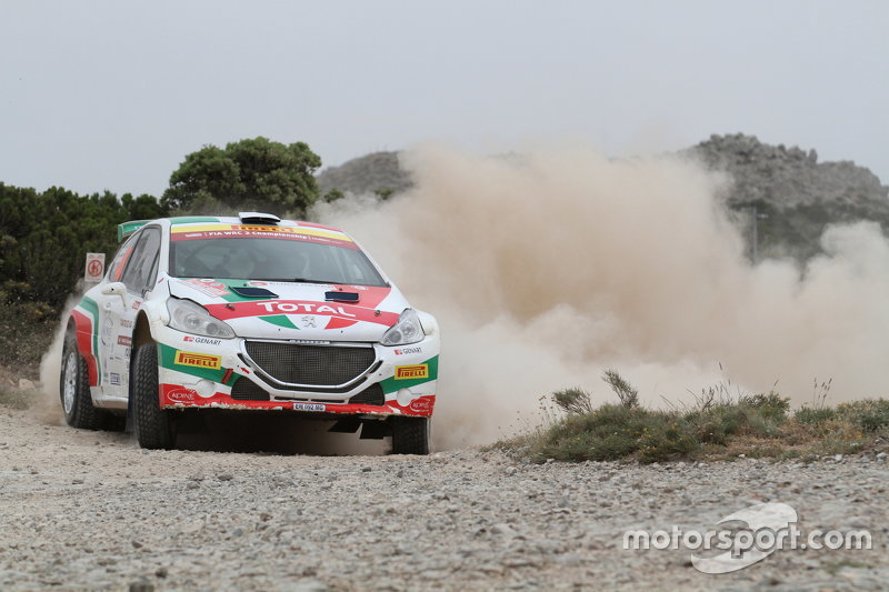 Paolo Andreucci and Anna Andreucci, Peugeot 208 R6