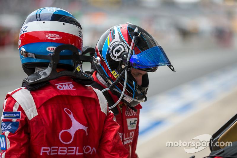#12 Rebellion Racing, Rebellion R-One: Fahrerwechsel zwischen Nicolas Prost und Nick Heidfeld