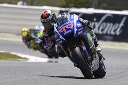 Хорхе Лоренцо та Валентіно Россі, Yamaha Factory Racing