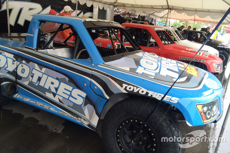 Matt Brabham's stadium truck