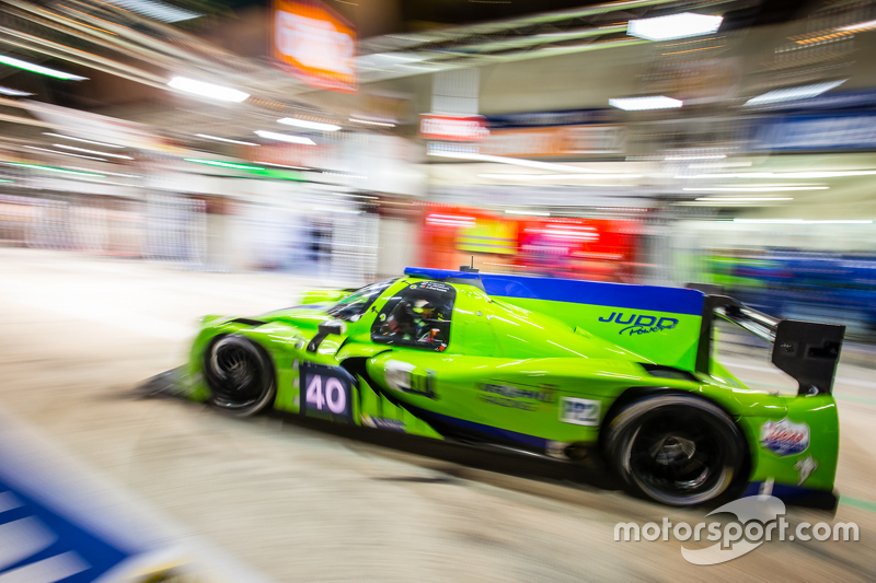 Boxenstopp für #40 Krohn Racing, Ligier JS P2: Tracy Krohn, Nic Jonsson, Joao Barbosa