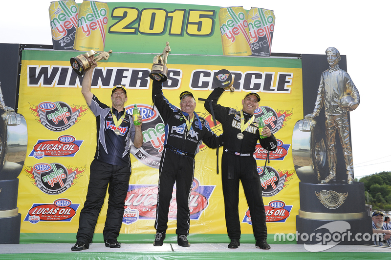 Pro-Stock: 1. Greg Anderson; Funny-Car: 1. John Force; Top-Fuel: 1. Tony Schumacher