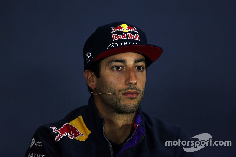 Daniel Ricciardo, Red Bull Racing, in der FIA-Pressekonferenz