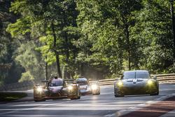 #26 G-Drive Racing Ligier JS P2: Roman Rusinov, Julien Canal, Sam Bird, #88 Abu Dhabi Proton Competition Porsche 911 RSR: Christian Ried, Klaus Bachler, Khaled Al Qubaisi