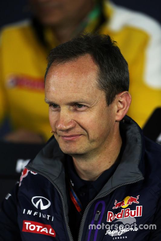 Paul Monaghan, Red Bull Racing na coletiva de imprensa da FIA