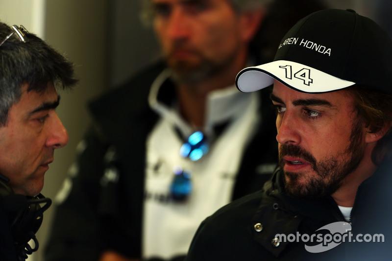 Пітер Продромоу, McLaren Головний інженер з Фернандо Алонсо , McLaren