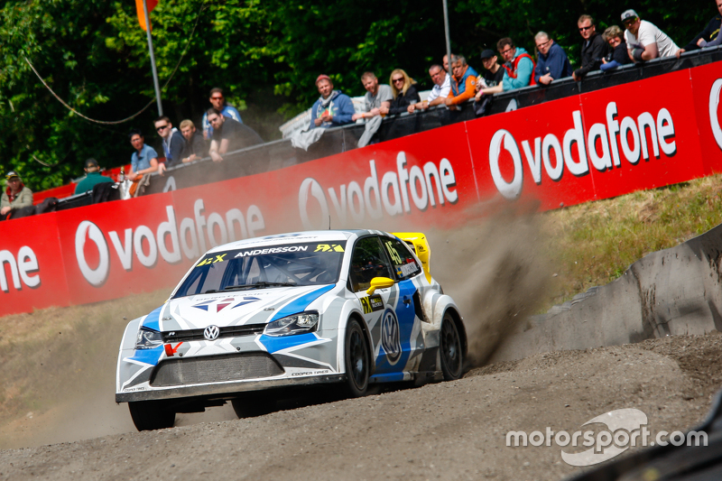 PG Andersson, Marklund Motorsport, VW Polo WRX