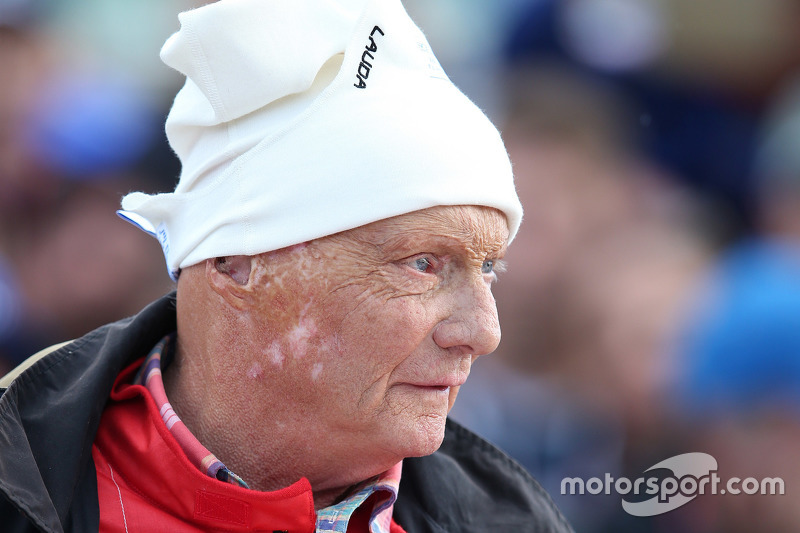 Niki Lauda, Presidente Non Esecutivo Mercedes alla Parata delle Leggende