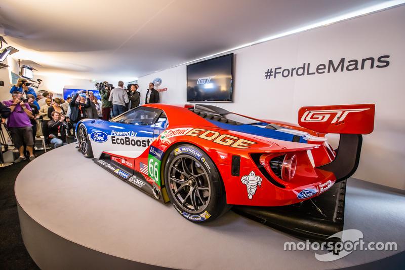 Spek baru GTE Ford GT 2016 yang akan dipakai balapan oleh Chip Ganassi Racing di 24 Hours of Le Mans 2016