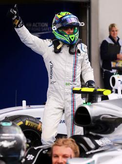 Felipe Massa, Williams celebra su tercer puesto