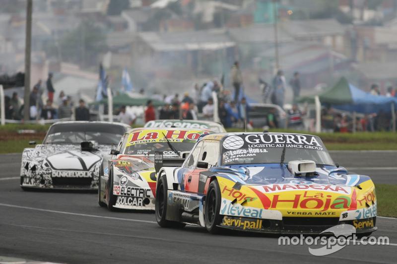 Luis Jose di Palma, Indecar Racing, Torino; Sergio Alaux, Coiro Dole Racing, Chevrolet, und Laureano