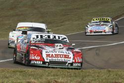 Pedro Gentile, JP Racing, Chevrolet; Leonel Sotro, Alifraco Sport, Ford, und Martin Serrano, Coiro Dole Racing, Dodge
