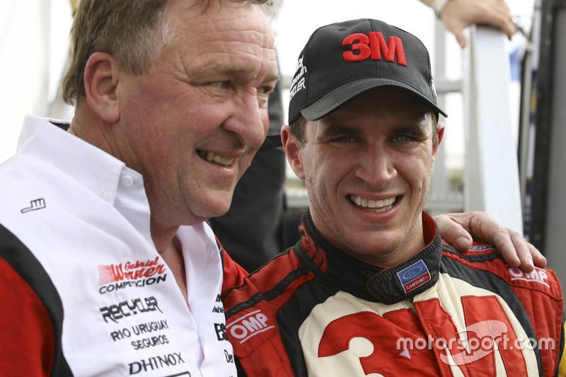 Día del padre, Mariano Werner, Werner Competicion Ford, y su padre, José Werner