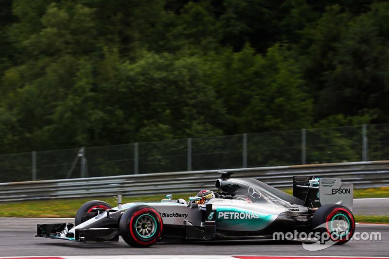 Паскаль Верляйн, Mercedes AMG F1 W06 резервний гонщик