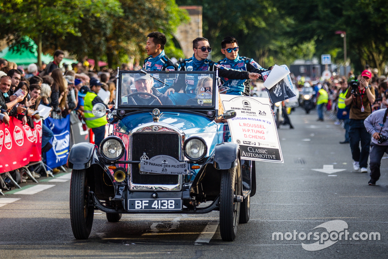 #29 Pegasus Racing Morgan LM P2: Ho-Pin Tung, David Cheng, Leo Roussel