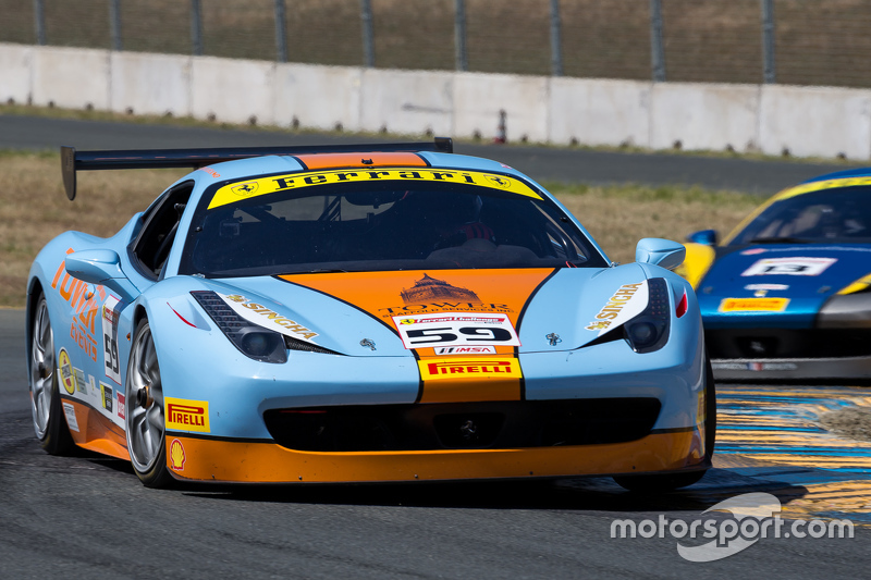#59 Ferrari of дляt Lauderdale Ferrari 458: John Farano