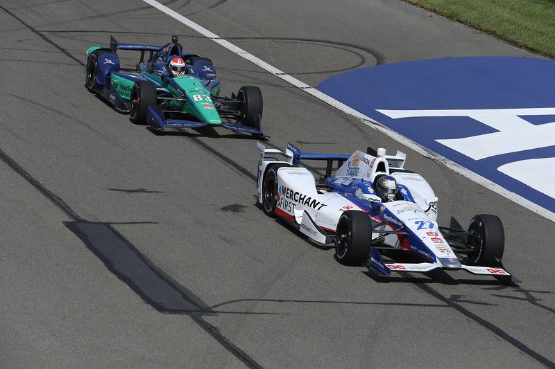 Марко Андретті, Andretti Autosport Honda та Чарлі Кімбол, Chip Ganassi Racing Chevrolet