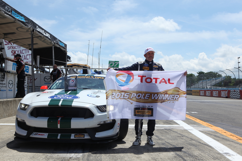 GS polesitter: #15 Multimatic Motorsports Ford Mustang Boss 302R: Scott Maxwell, Billy Johnson