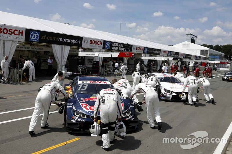 Antonio Felix da Costa, BMW Team Schnitzer BMW M4 DTM dan Martin Tomczyk, BMW Team Schnitzer BMW M4