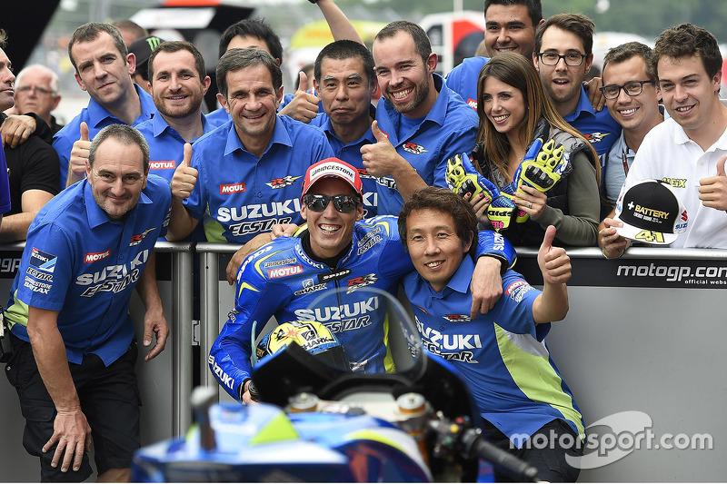 Peringkat kedua sesi kualifikasi for Aleix Espargaro, Team Suzuki MotoGP