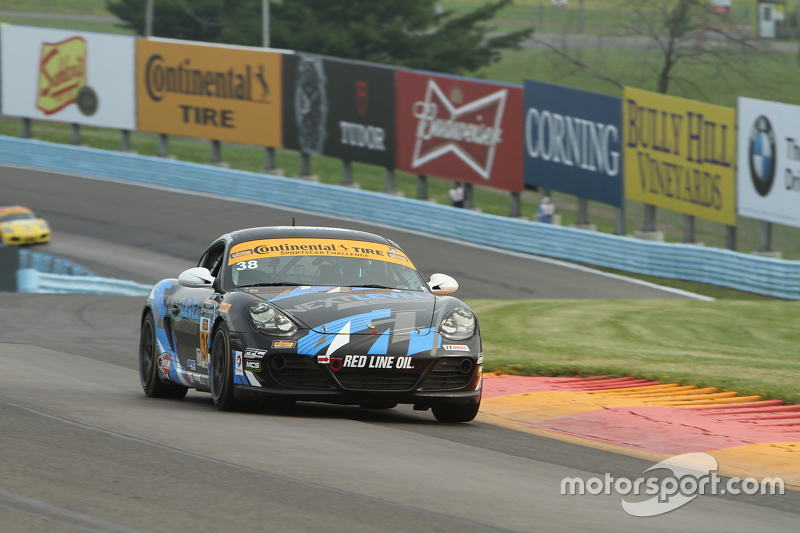 #38 Next Level European, Porsche Cayman: Dan Rogers, Seth Thomas