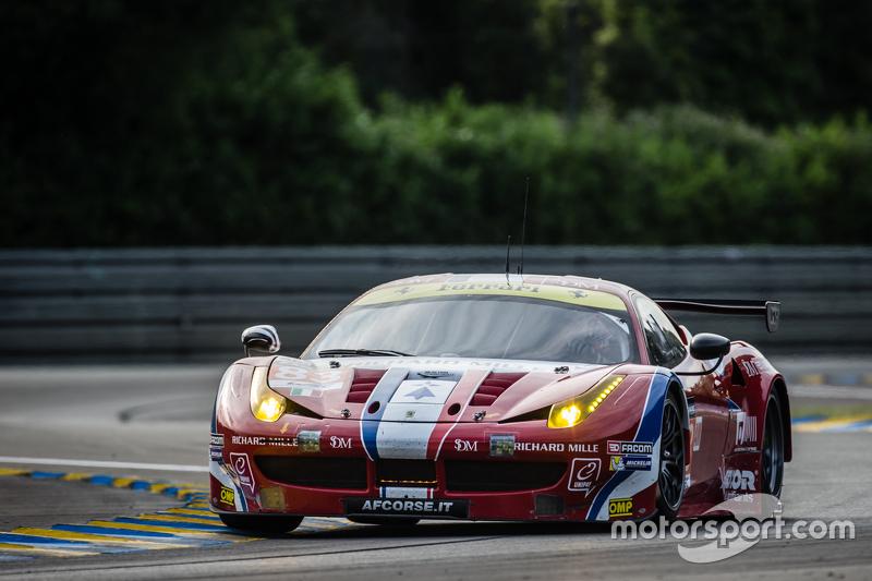 #83 AF Corse, Ferrari 458 GTE: Emmanuel Collard, Rui Aguas, François Perrodo