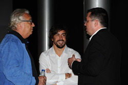 Fernando Alonso, Flavio Briatore, Eric Boullier